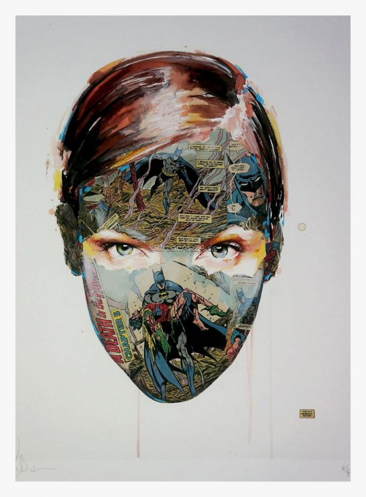 Sandra Chevrier The Cage - Family Blood (AP)  print