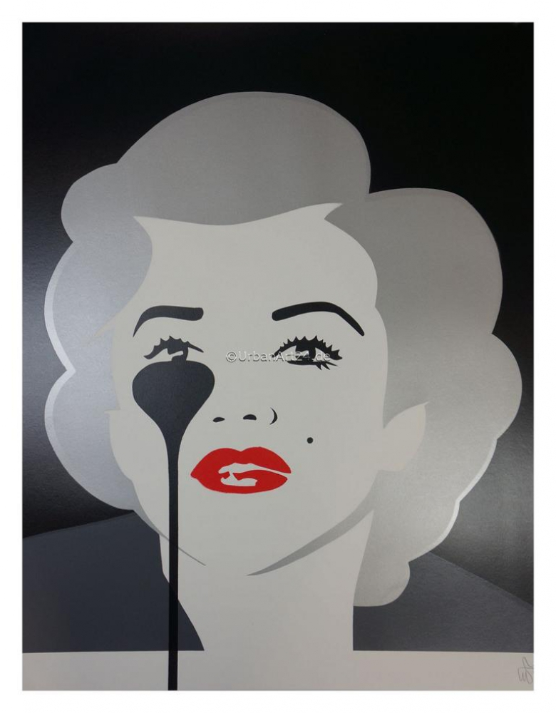 Pure Evil The Last Marilyn (Dirty Silver) print