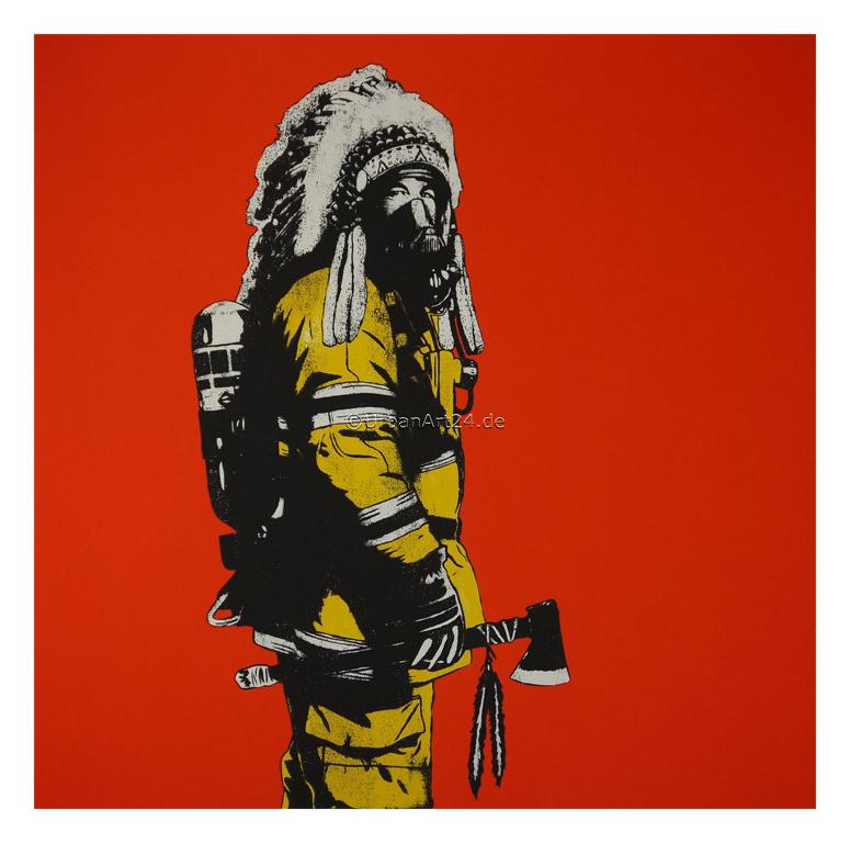 Dolk Chief red edition print