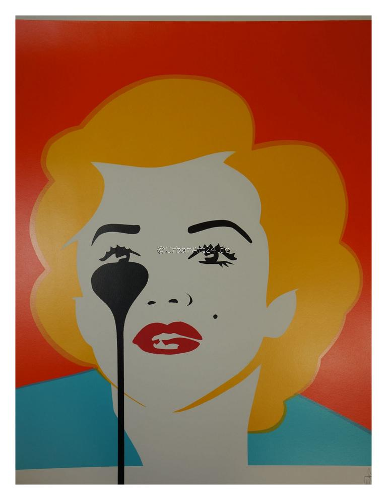 Pure Evil The Last Marilyn (Golden Hair) print