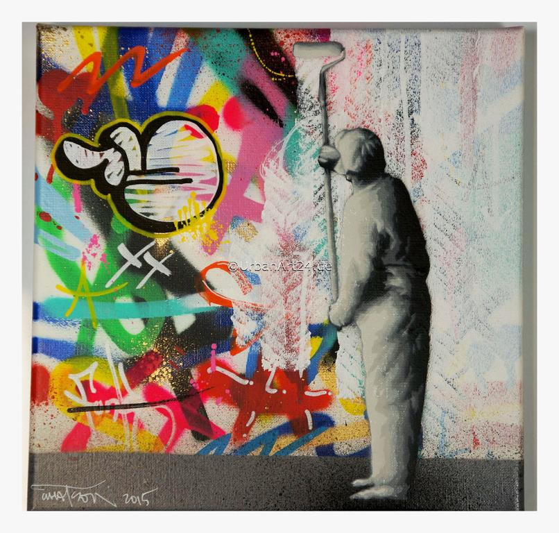 Martin Whatson All White canvas