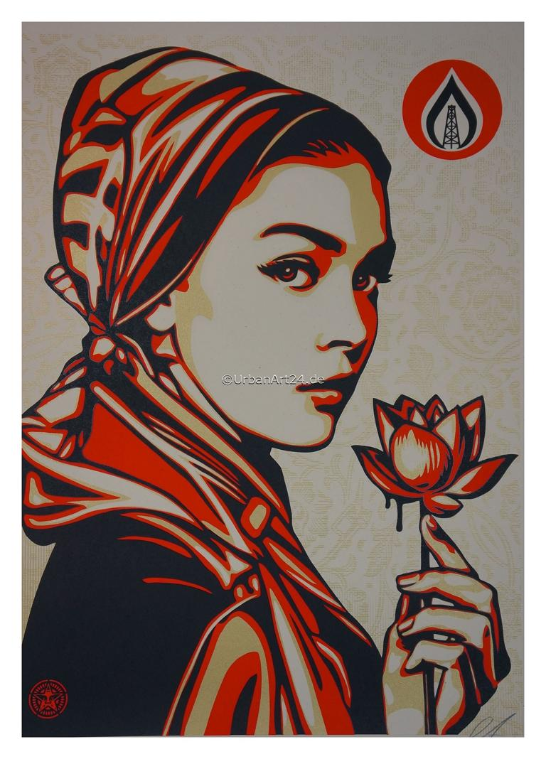 Shepard Fairey Natural Springs print
