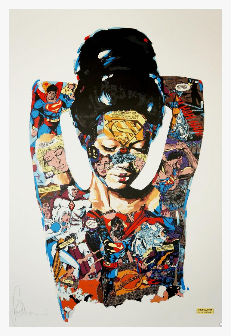 Sandra Chevrier The cage - Who Gave Her Life For Humanity print