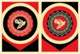 Shepard Fairey Peace Dove Set Druck